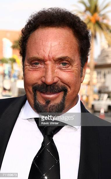 Singer Tom Jones arrives at the 34th AFI Life Achievement Award tribute to Sir Sean Connery held at the Kodak Theatre on June 8 2006 in Hollywood...