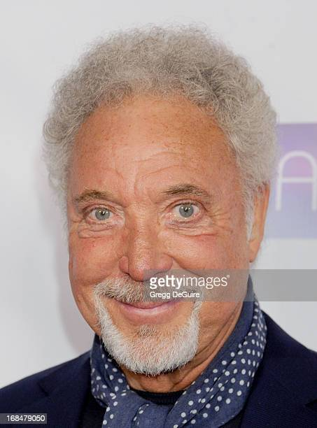 Singer Tom Jones arrives at the NARM Music Biz Awards dinner party at the Hyatt Regency Century Plaza on May 9 2013 in Century City California