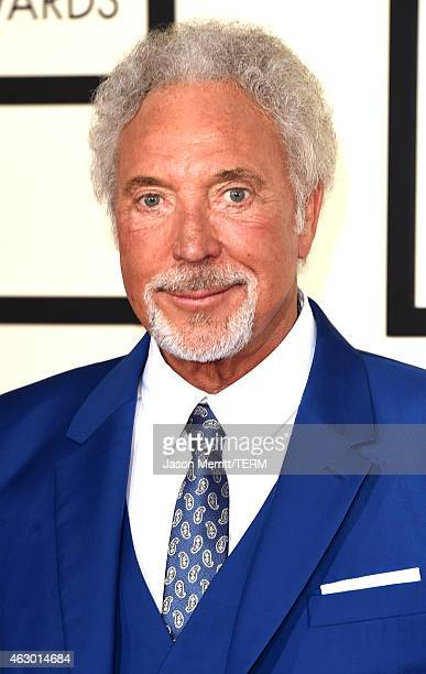 Singer Tom Jones attends The 57th Annual GRAMMY Awards at the STAPLES Center on February 8 2015 in Los Angeles California