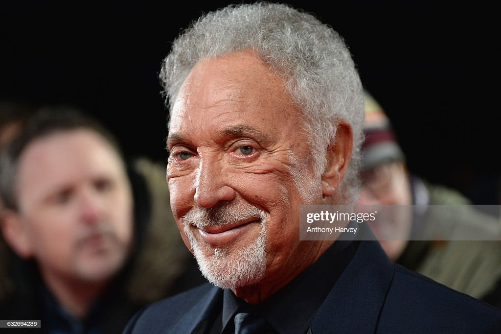 Singer Tom Jones attends the National Television Awards on January 25, 2017 in London, United Kingdom.