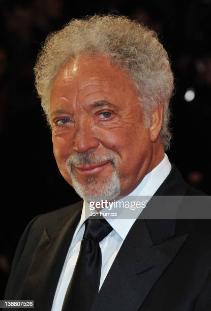 Singer Tom Jones attends the Orange British Academy Film Awards 2012 at the Royal Opera House on February 12 2012 in London England