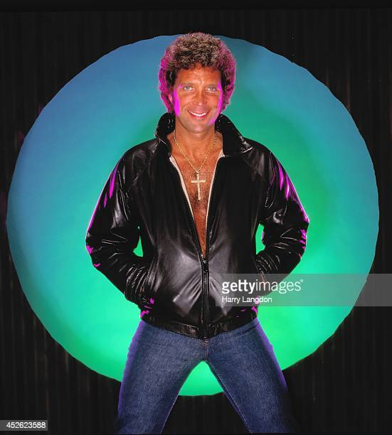 Singer Tom Jones poses for a portrait in 1987 in Los Angeles, California.