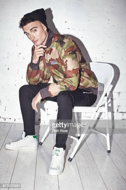 Singer Tom Parker is photographed on September 17 2015 in London England