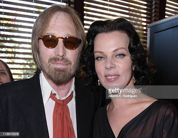 Singer Tom Petty and actress Debi Mazar arrive to The Midnight Mission's 11th Annual Golden Heart Awards on May 9 2011 in Beverly Hills California