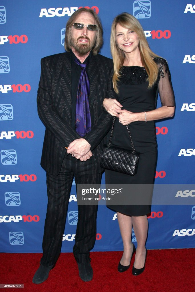 Singer Tom Petty (L) and Dana York attend the 2014 ASCAP Pop Awards held at the Lowes Hollywood Hotel on April 23, 2014 in Hollywood, California.