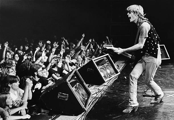 Rock Singer Tom Petty in Concert