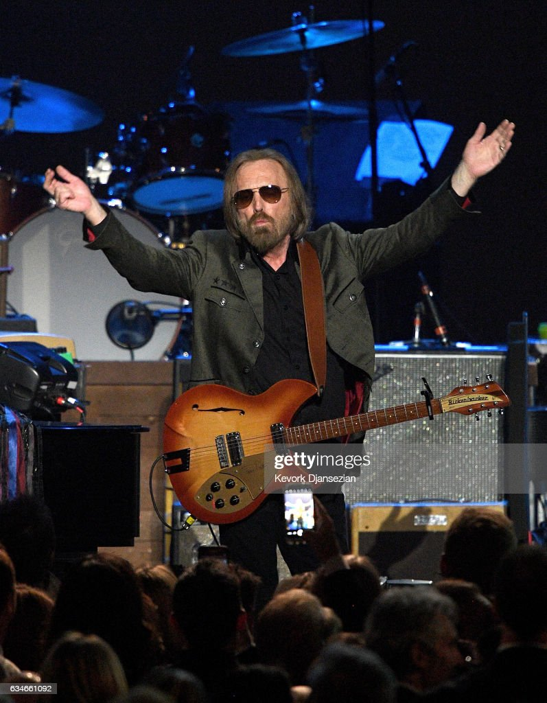 Singer Tom Petty performs onstage during MusiCares Person of the Year honoring Tom Petty at the Los Angeles Convention Center on February 10, 2017 in Los Angeles, California.