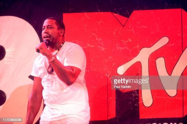 Singer Tone Loc performs on MTV's show 'Club MTV', Rosemont, Illinois, July 8, 1989.