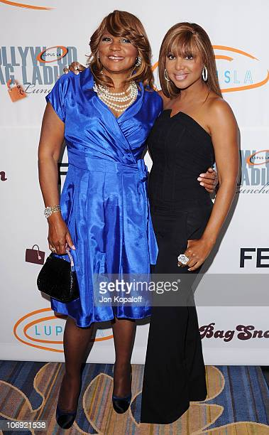 Singer Toni Braxton and her mother Evelyn Braxton arrive at the 8th Annual Lupus LA Bag Ladies Luncheon at the Beverly Wilshire Four Seasons Hotel on...