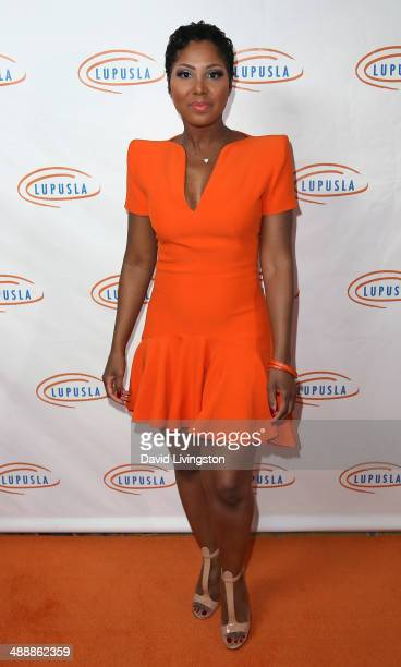 Singer Toni Braxton attends the 14th Annual Lupus LA Orange Ball at the Regent Beverly Wilshire Hotel on May 8 2014 in Beverly Hills California