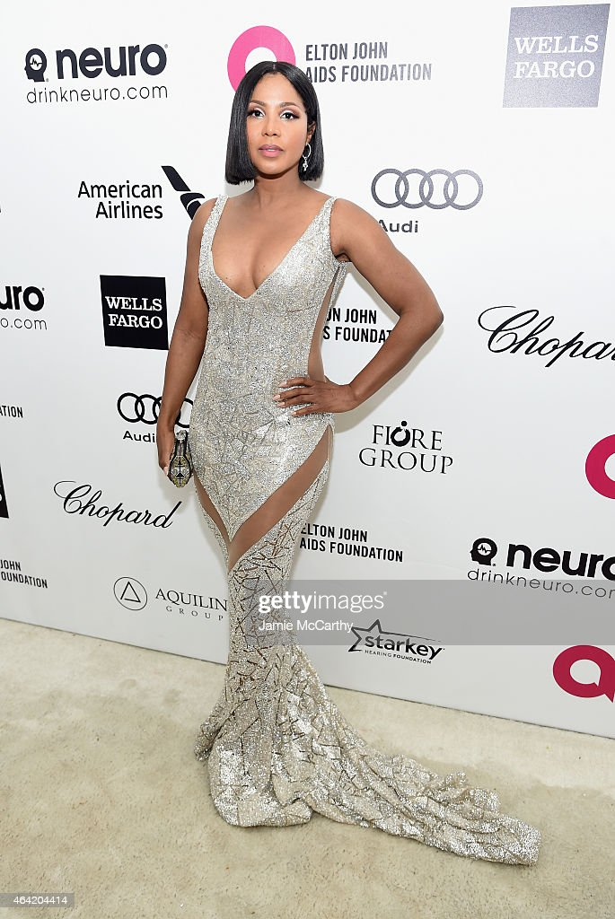 23rd Annual Elton John AIDS Foundation Academy Awards Viewing Party - Red Carpet : News Photo