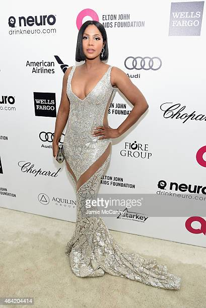 Singer Toni Braxton attends the 23rd Annual Elton John AIDS Foundation Academy Awards Viewing Party on February 22, 2015 in Los Angeles, California.
