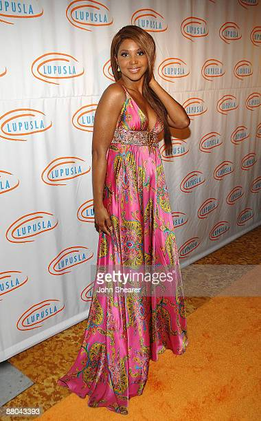 Singer Toni Braxton attends the 9th annual Lupus LA Orange Ball at the Beverly Wilshire Four Seasons Hotel on May 28 2009 in Beverly Hills California