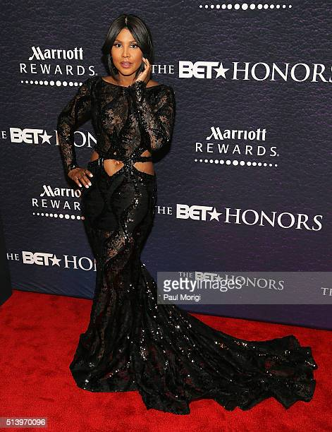 Singer Toni Braxton attends the BET Honors 2016 at Warner Theatre on March 5 2016 in Washington DC