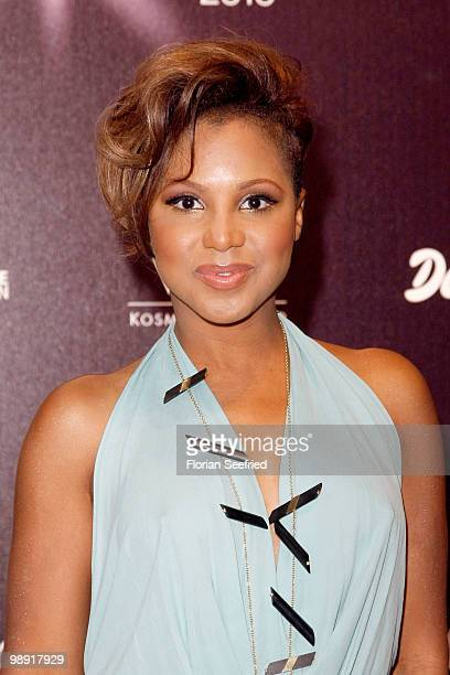Singer Toni Braxton attends the 'Duftstars 2010' at the Station on May 7, 2010 in Berlin, Germany.