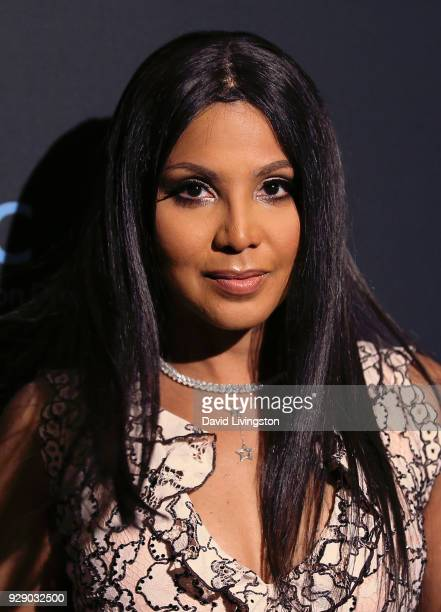 Singer Toni Braxton attends the premiere of Saban Films' 'The Forgiven' at the Directors Guild of America on March 7 2018 in Los Angeles California