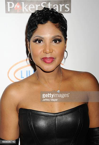Singer Toni Braxton attends the Stars Get Lucky For Lupus 6th Annual Poker Tournament at Avalon on September 18 2014 in Hollywood California