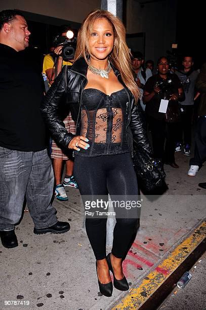 Singer Toni Braxton enters the Maritime Hotel on September 14 2009 in New York City