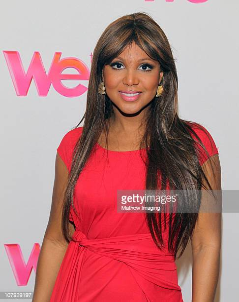 "Singer Toni Braxton of show ""Braxton Family Values"" attends the WE tv Winter 2011 TCA Panel at the Langham Hotel on January 7, 2011 in Pasadena,..."