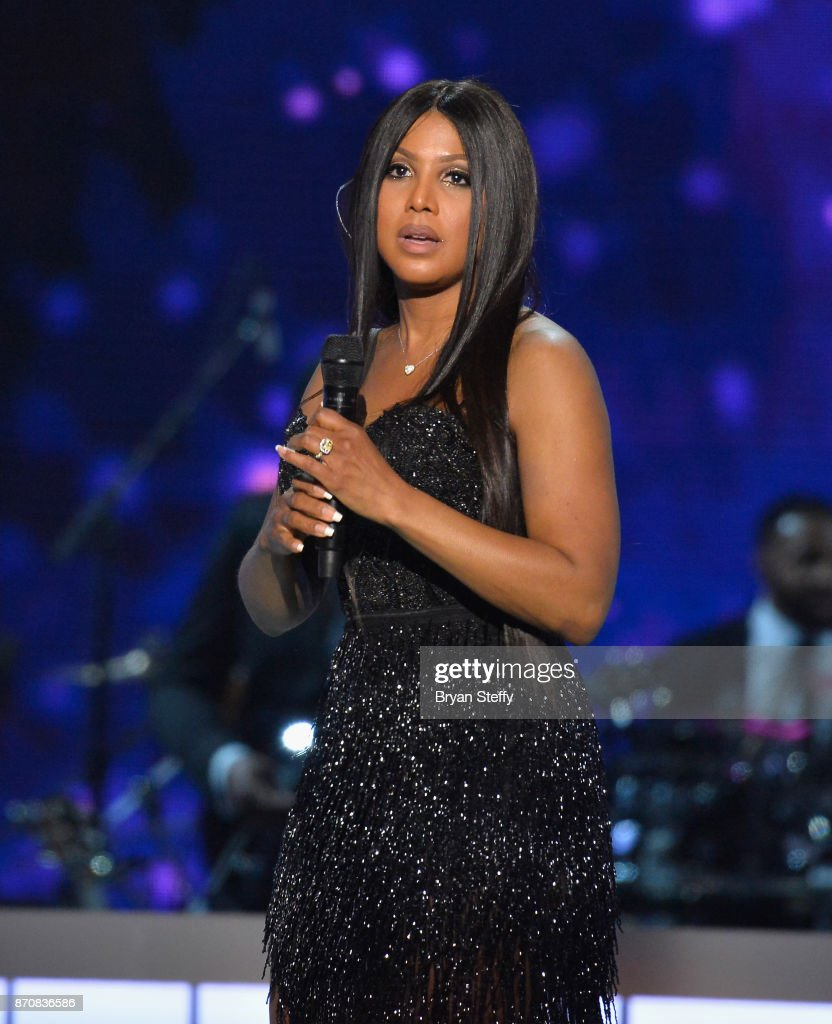 Singer Toni Braxton performs during the 2017 Soul Train Music Awards at the Orleans Arena on November 5, 2017 in Las Vegas, Nevada.
