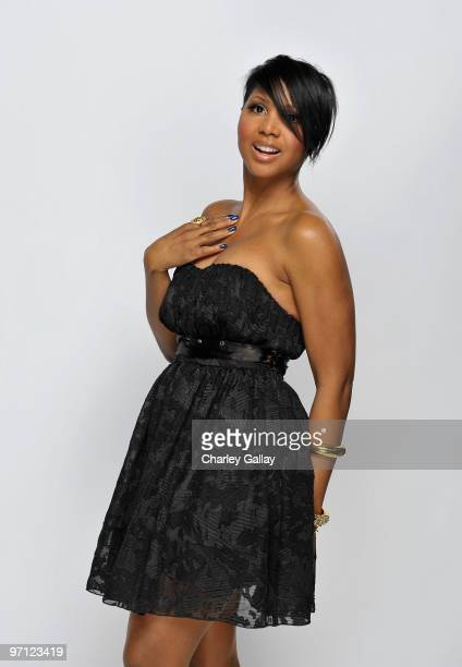 Singer Toni Braxton poses for a portrait during the 41st NAACP Image awards held at The Shrine Auditorium on February 26 2010 in Los Angeles...