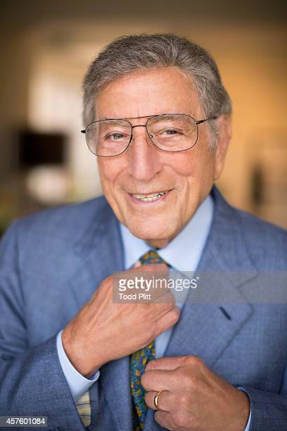Singer Tony Bennett is photographed for USA Today on August 21 2014 in New York City PUBLISHED IMAGE
