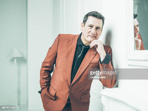 Singer Tony Hadley is photographed for UMC label on September 29 2015 in Milan Italy