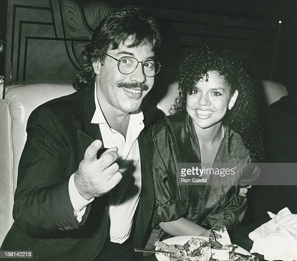 Singer Tony Orlando and Francine Marie Amornino attend Second Annual AIDS Benefit hosted by Dionne Warwick on June 10 1989 at Avery Fisher Hall at...