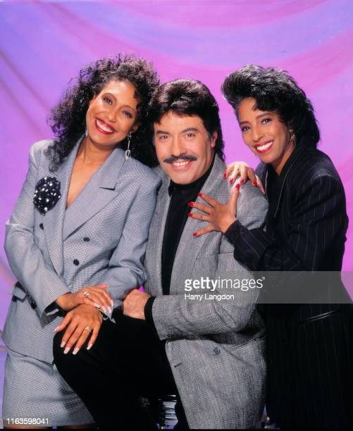 Singer Tony Orlando and group Dawn poses for a portrait in 1989 in Los Angeles California