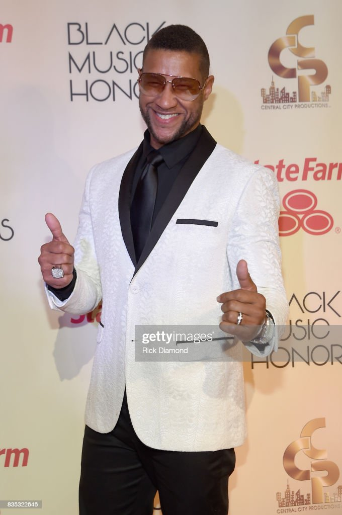 Singer Tony Terry arrives at the 2017 Black Music Honors at Tennessee Performing Arts Center on August 18, 2017 in Nashville, Tennessee.