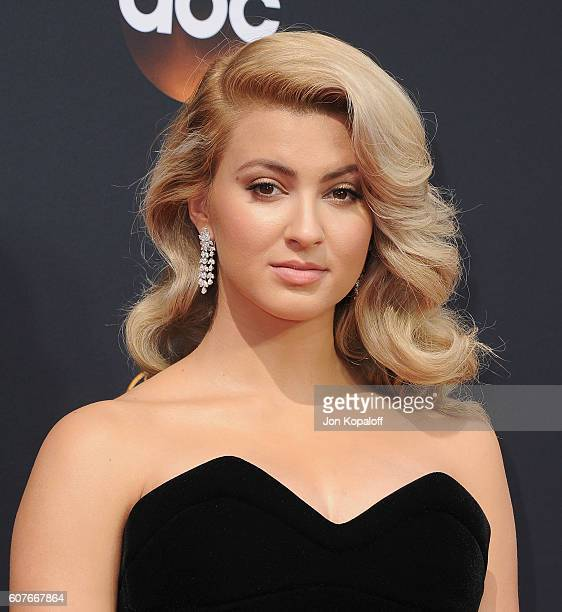 Singer Tori Kelly arrives at the 68th Annual Primetime Emmy Awards at Microsoft Theater on September 18 2016 in Los Angeles California