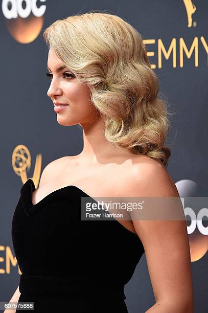 Singer Tori Kelly attends the 68th Annual Primetime Emmy Awards at Microsoft Theater on September 18 2016 in Los Angeles California