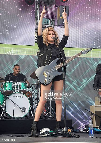 Singer Tori Kelly performs at the 1027 KIIS FM's Wango Tango concert at StubHub Center on May 9 2015 in Los Angeles California