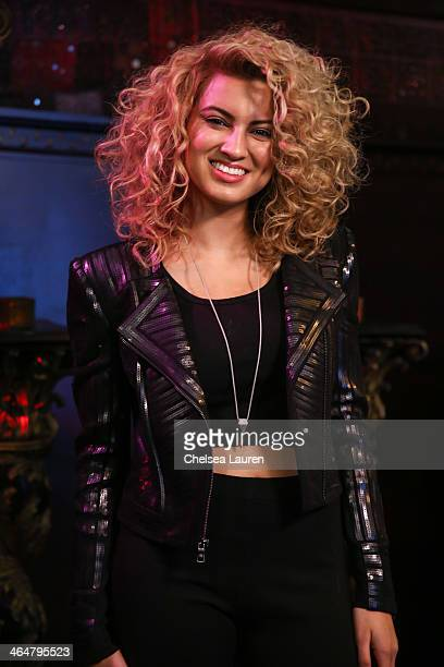 Singer Tori Kelly poses backstage at MTV Artist to Watch kickoff event at House of Blues Sunset Strip on January 23, 2014 in West Hollywood,...