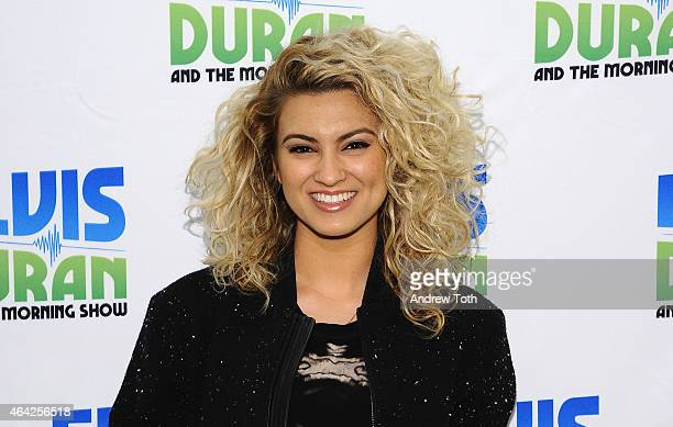 Singer Tori Kelly visits 'The Elvis Duran Z100 Morning Show' at Z100 Studio on February 23 2015 in New York City