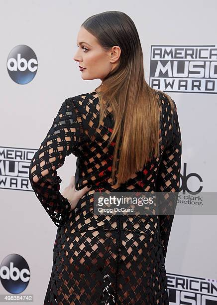 Singer Tove Lo arrives at the 2015 American Music Awards at Microsoft Theater on November 22 2015 in Los Angeles California