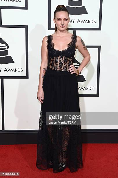 Singer Tove Lo attends The 58th GRAMMY Awards at Staples Center on February 15 2016 in Los Angeles California