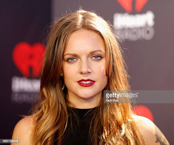 Singer Tove Lo attends The Daytime Village during the 2015 iHeartRadio Music Festival at the Las Vegas Village on September 19 2015 in Las Vegas...