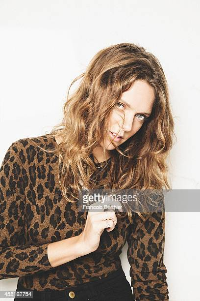 Singer Tove Lo is photographed for Self Assignment on September 3 2014 in Paris France
