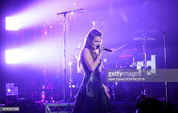 Singer Tove Lo performs onstage at Dick Clark's New Year's Rockin' Eve with Ryan Seacrest 2016 on December 31 2015 in Los Angeles CA