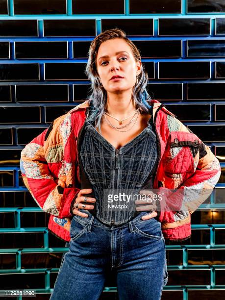 MELBOURNE VIC Singer Tove Lo poses during a photo shoot in Melbourne Victoria