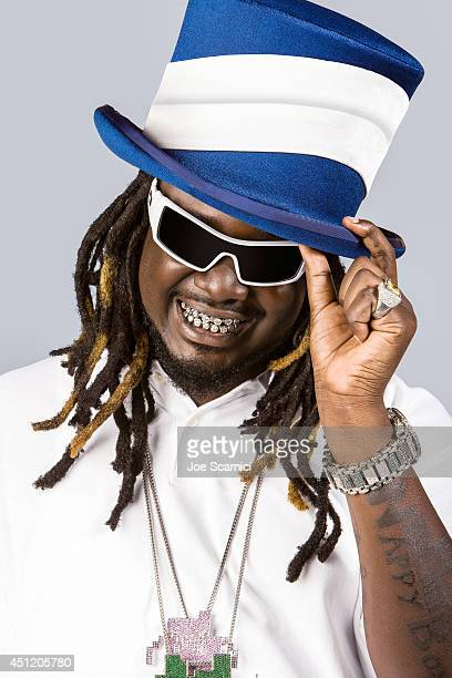 Singer T-Pain is photographed for Self Assignment on May 28, 2008 in Los Angeles, California.