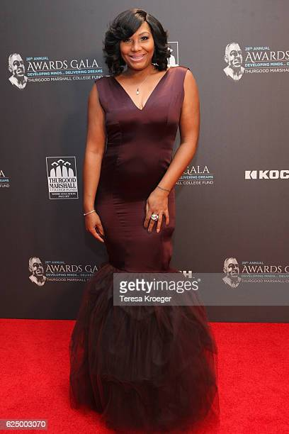 Singer Traci Braxton attends the Thurgood Marshall College Fund 28th Annual Awards Gala at Washington Hilton on November 21, 2016 in Washington, DC.