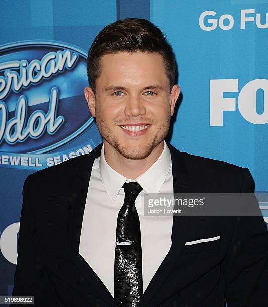 Singer Trent Harmon attends FOX's 'American Idol' finale for the farewell season at Dolby Theatre on April 7 2016 in Hollywood California