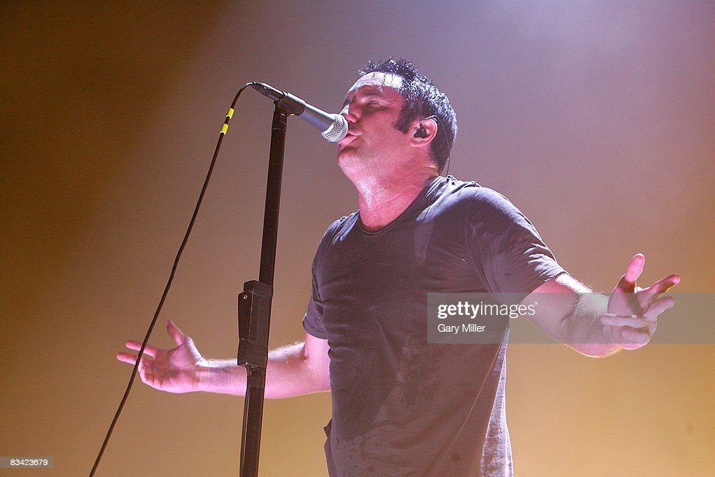 Nine Inch Nails in Concert Photos and Images | Getty Images