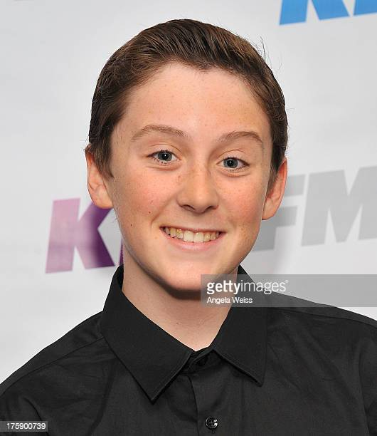 Singer Trevor Moran arrives at the 1027 KIIS FM Teen Choice Awards preparty at W Los Angeles Westwood on August 9 2013 in Los Angeles California