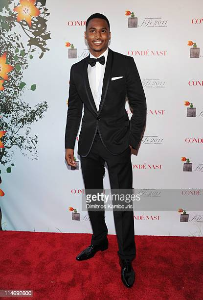 Singer Trey Songz attends the 2011 FiFi Awards at The Tent at Lincoln Center on May 25 2011 in New York City