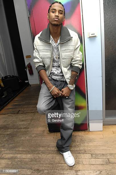 RB singer Trey Songz visits MTV's Sucker Free at MTV Studios Times Square on October 17 2007 in New York City