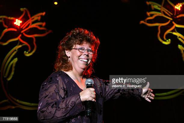 Singer Trieana Moon performs during the Lili Claire Foundation 10th annual benefit dinner and auction held at the Hyatt Regency Century Plaza on...
