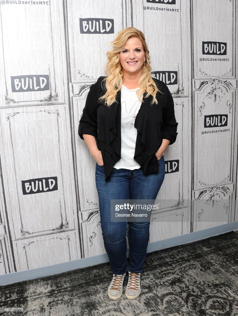Singer Trisha Yearwood attends Build at Build Studio on May 23, 2017 in New York City.